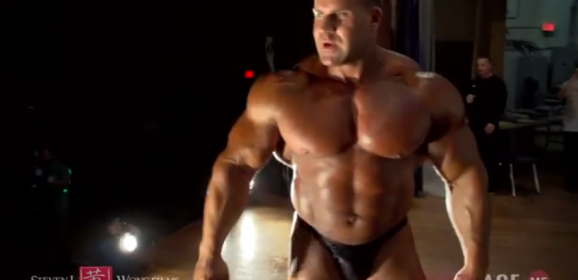 Exclusive behind the scenes of 4x Mr. Olympia Jay Cutler