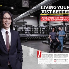 Anti-Age Me feature hits the pages of Inside Fitness